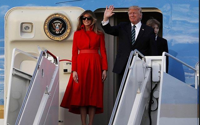 Chào mừng đến với Chuyên Cơ Không Lực Số Một của tổng thống Trump