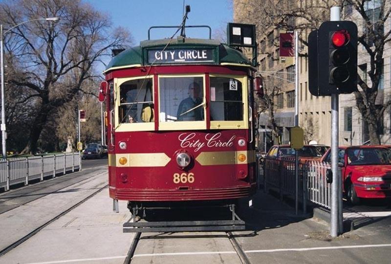 Tàu điện - một biểu tượng của Melbourne