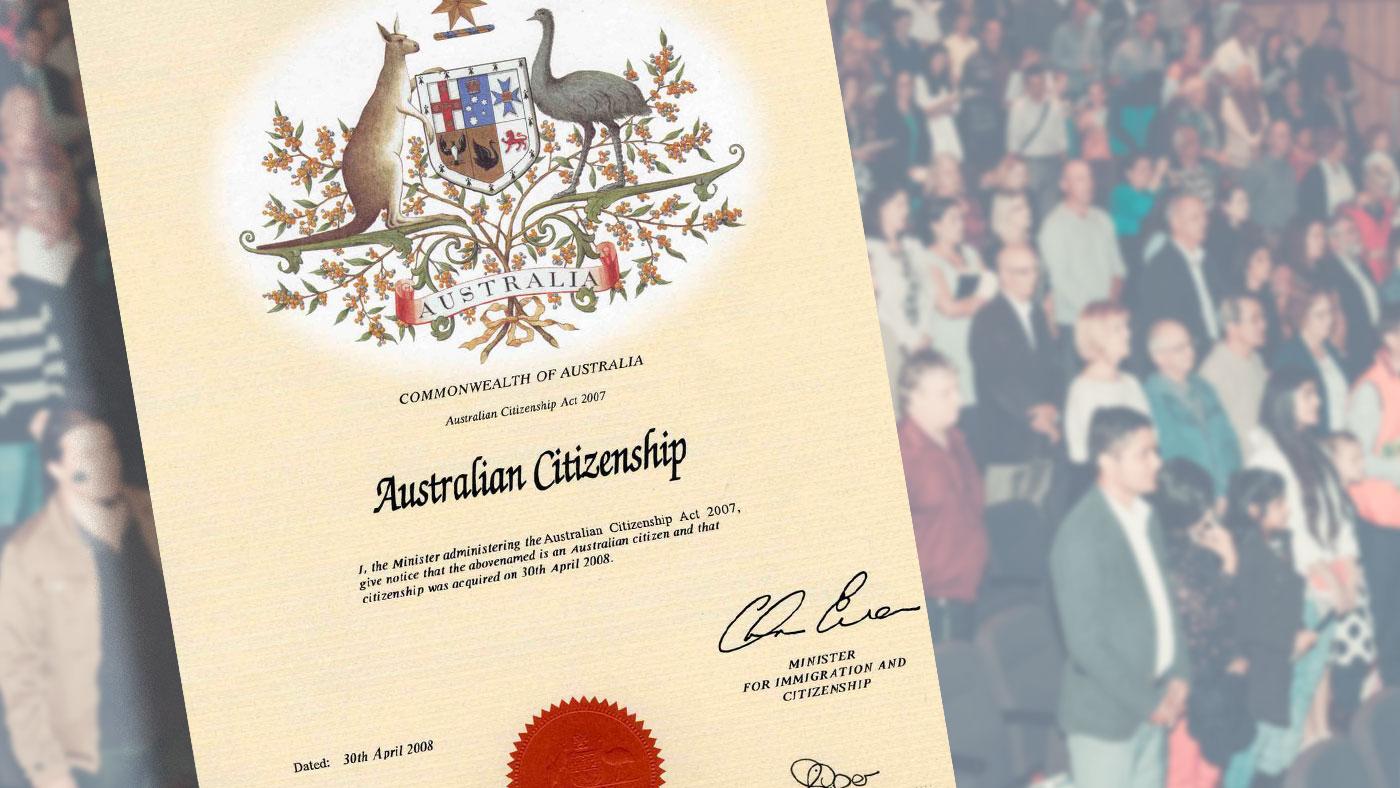 Cách nhập quốc tịch Úc