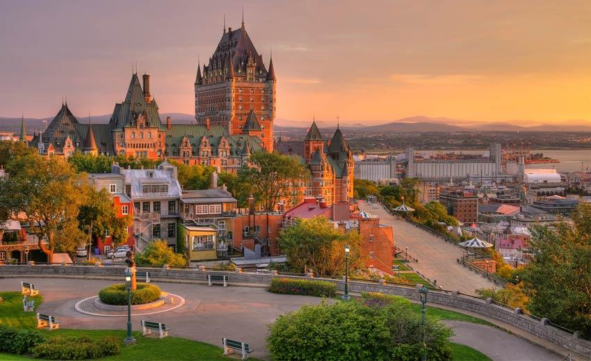 Québec - Tỉnh bang xinh đẹp của Canada và là nơi định cư mơ ước của nhiều người trên thế giới.