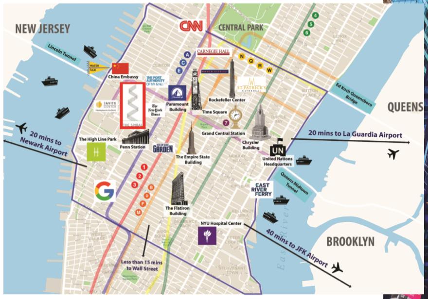 """Tọa lạc tại Midtown Manhattan - Nơi được mệnh danh là """"Kinh đô của thế giới"""""""