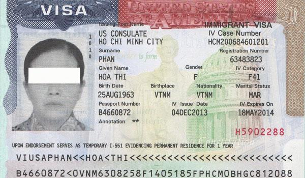 Rớt visa luôn là một trong những yếu tố đầu tiên mà những người muốn định cư Mỹ lo sợ