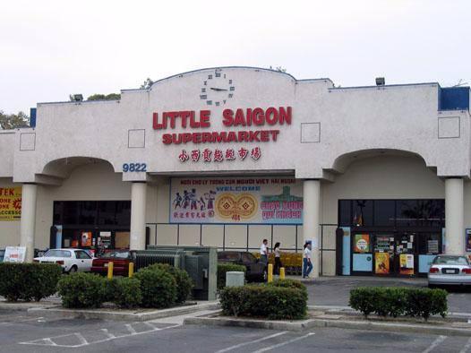 Khu Little Saigon ở California tập trung nhiều người việt sinh sống