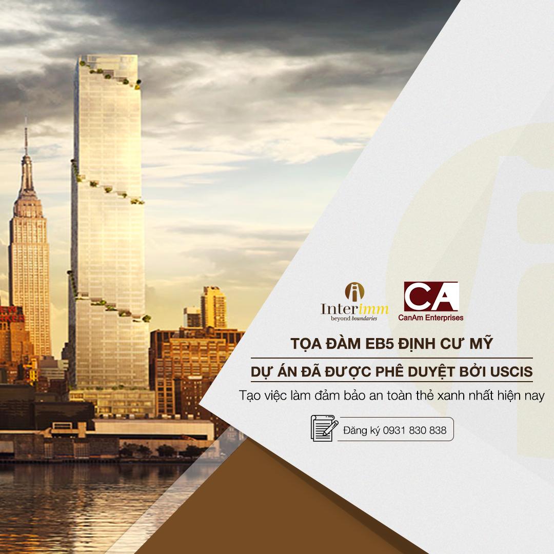 CanAm và Interimm hợp tác giới thiệu dự án The Spiral đến nhà đầu tư Việt Nam