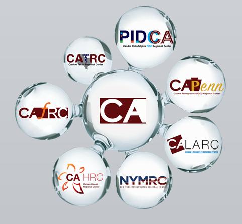 Toàn quyền điều hành 7 trung tâm được chỉ định bởi USCIS tại các thành phố lớn của nước Mỹ