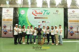 Đội ngũ Interimm tham gia đồng hành cùng Giải Tennis Quán Tre 2018