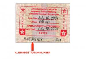 Tem I-551 thể hiện cho việc duy trì tình trạng thường trú nhân của nhà đầu tư trước khi nhận được thẻ xanh vĩnh viễn