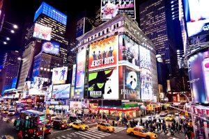 Hệ thống sân khấu nhạc kịch Broadway là niềm tự hào của Manhattan hoa lệ