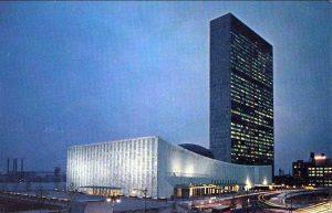 Trụ sở chính trị UNESCO nổi bật giữa lòng Manhattan