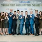 Sự kiện công bố INTERHOME trở thành đại diện chính thức của Tập đoàn LENNAR